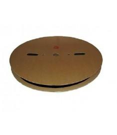 6.4mm Diameter (3.2mm Shrunk) x 100 Metre Spool Black Heat Shrink Tubing (Tube) 2:1 Ratio