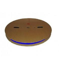19mm Diameter (9.5mm Shrunk) x 50 Metre Spool Blue Heat Shrink Tubing (Tube) 2:1 Ratio