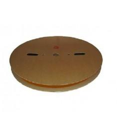 25.4mm Diameter (12.7mm Shrunk) x 50 Metre Spool Brown Heat Shrink Tubing (Tube) 2:1 Ratio