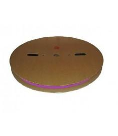 6.4mm Diameter (3.2mm Shrunk) x 100 Metre Spool Violet Heat Shrink Tubing (Tube) 2:1 Ratio