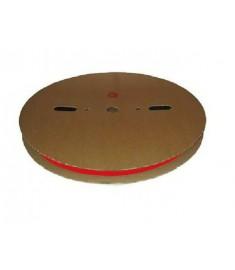 2.4mm Diameter (1.2mm Shrunk) x 200 Metre Spool Red Heat Shrink Tubing (Tube) 2:1 Ratio