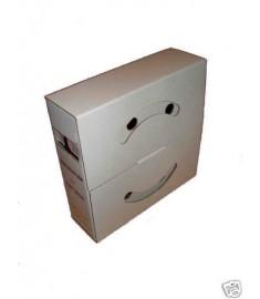 25.4mm Diameter x 5 Meter Mini Box (Spool) Black Heat Shrink