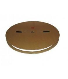 9.5mm Diameter (4.8mm Shrunk) x 50 Metre Spool White Heat Shrink Tubing (Tube) 2:1 Ratio